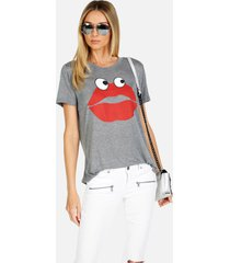capri kiss face - heather grey xl