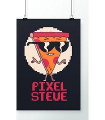poster pixel steve