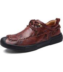 l'uomo anti-collisione merletta in su i piedi solitari indossabili solitari scarpe casuali
