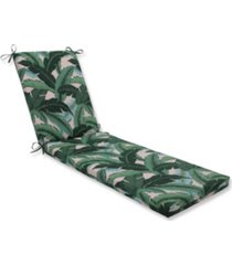 "printed 80"" x 23"" outdoor chaise lounge cushion"