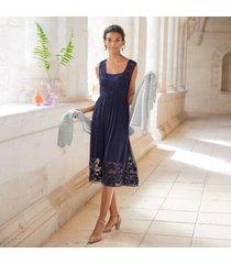 sundance catalog women's angelina dress in navy petite 2xs