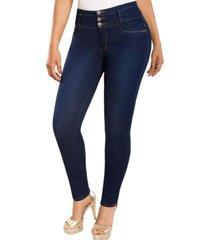 jeans colombiano control de abdomen mb azul new rodivan