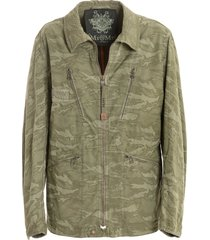 camouflage cotton canvas jacket