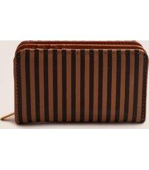 billetera con compartimentos. café uni