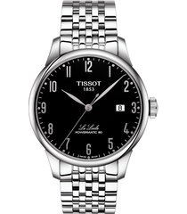 women's tissot le locle powermatic 80 automatic bracelet watch, 39mm