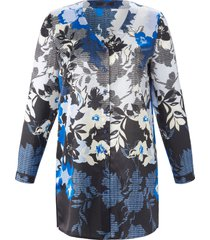 blouse met lange mouwen van emilia lay blauw