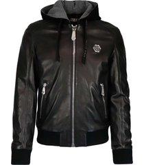 philipp plein bomber hoodie philipp leather jacket