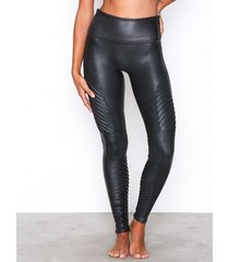 spanx moto leggings shaping & support