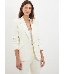 blazer le lis blanc vitoria off white feminino (off white, 50)