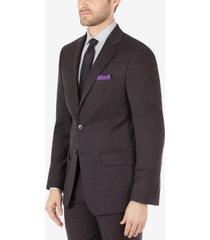 calvin klein men's slim-fit wool suit separates jacket