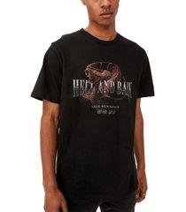 men's graphic moto t-shirt