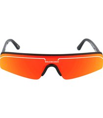balenciaga balenciaga bb0003s black sunglasses