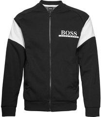 fashion college j. sweat-shirt tröja svart boss