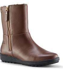 women's cougar vito waterproof bootie, size 6 m - brown