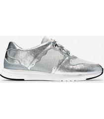 calzado dama plateado  grandpro wedge sneaker cole haan