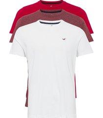 crew multi t-shirts short-sleeved multi/mönstrad hollister