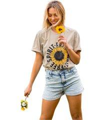 blusa in love t-shirt over espirito livre cinza - kanui