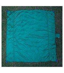 parachute beach blanket, 'sanur teal' (indonesia)