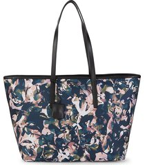 tumi women's everyday abstract-print tote - rose floral