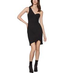 bcbgmaxazria one-shoulder sheath dress