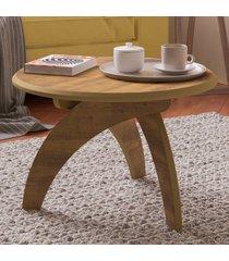 mesa de centro jade pinho - artely