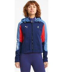 bmw m motorsport sportjack dames, blauw/rood, maat l | puma
