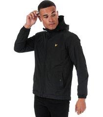 mens microfleece lined zip through jacket