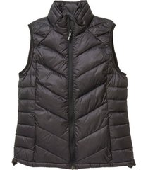 chaleco mujer negro cat classic down vest 2320028-mlg cat