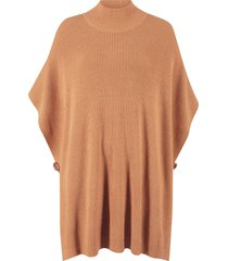 poncho a collo alto (marrone) - bpc bonprix collection