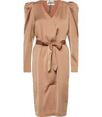 cady dress knälång klänning beige just female