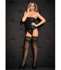 calze autoreggenti (nero) - bpc bonprix collection