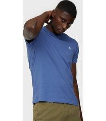 polo ralph lauren polo short sleevet-shirt t-shirts & linnen blue