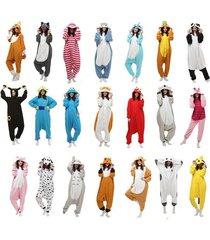 new unisex adult animal onesies onsie kigurumi pyjamas sleepwear onesie dress df