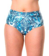 panty nudo azul tropical