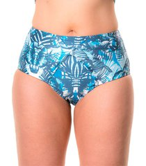 panty nudo azul tropical