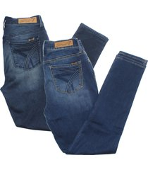 seven7 women's high rise skinny fit jeans