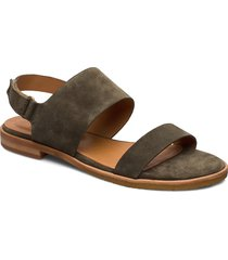sandals 4151 shoes summer shoes flat sandals grön billi bi