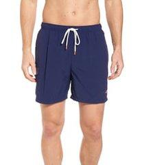 men's tommy bahama naples coast swim trunks, size x-large - blue