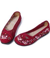 scarpe da donna traspiranti mesh flats traspiranti