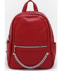 mochila pagani vermelha - único