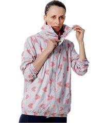 chaqueta para mujer rompevientos antifluido