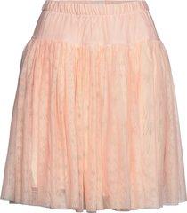 andrea skirt knälång kjol rosa lulu's drawer