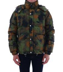off-white camouflage jacket