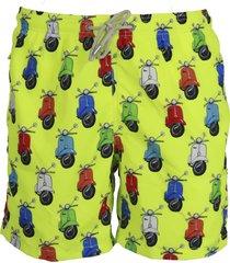 mc2 saint barth vespa party shorts