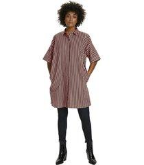 bertha shirt dress