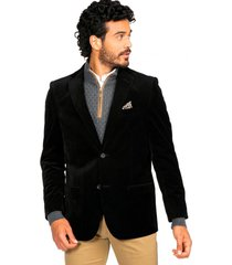 blazer casual negro guy laroche