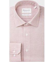 michaelis subtiel bordeaux shirt   overhemd