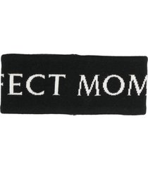 perfect moment logo merino headband - black