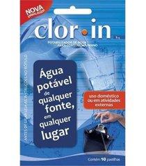 pastilha purificadora de água nautika clorin 10 unidades 1 mg