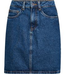 jeanskjol vmkathy hr short denim skirt